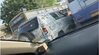 Mahindra TUV300XL aka TUV500 spied testing again under camouflage; India launch imminent