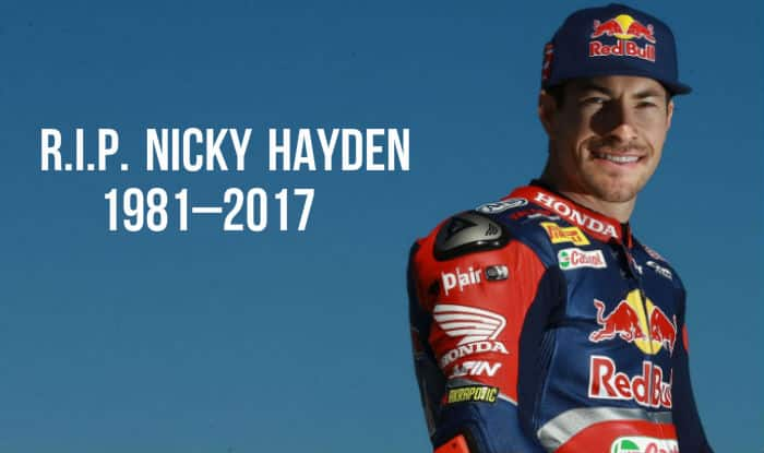 Champion Auto Owensboro >> Nicky Hayden dead at 35! Former MotoGP World Champion dies after cycling accident, Tributes pour ...