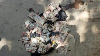 Rs 1,000 demonetised notes found dumped in a drain in Lucknow