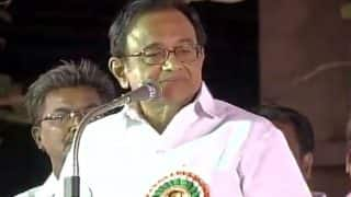 P Chidambaram gets emotional, says Rajiv Gandhi was assassinated for being a 'messenger of peace'