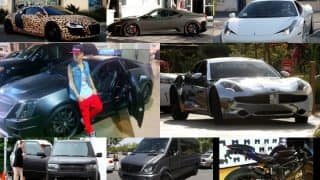 Justin Bieber: List of cars and bikes that drives the pop sensation
