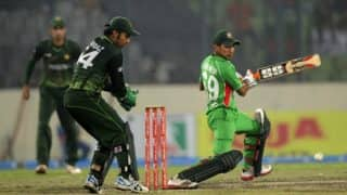Fahim Ashraf heroics help Pakistan beat Bangladesh by two wickets in Champions Trophy 2017 warm-up match, catch highlights here