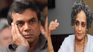 Paresh Rawal vs Arundhati Roy row: Actor being threatened to delete tweets or face account suspension!