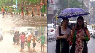 मानसून से पहले भीगा दिल्ली-एनसीआर, गर्मी से बड़ी राहत