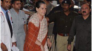सोनिया गांधी की हालत में सुधार, सर गंगाराम अस्पताल से मिली छुट्टी