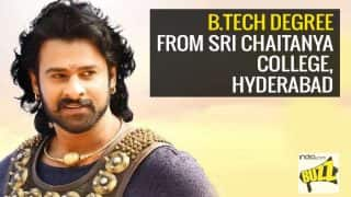 Bahubali 2 Movie Star Cast Educational Qualifications: Prabhas, Anushka Shetty & others are a studious bunch of actors!