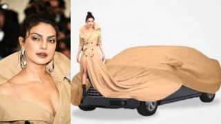 Priyanka Chopra loves these Met Gala 2017 trench coat dress memes! Baywatch actress has actually Instagrammed all the funny pictures