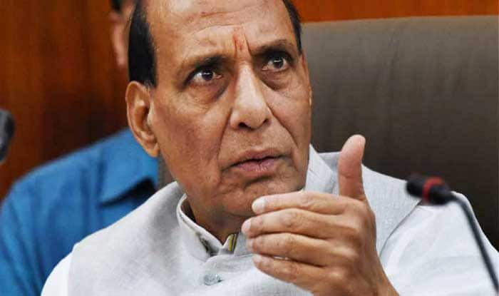 File image of Home Minister Rajnath Singh.