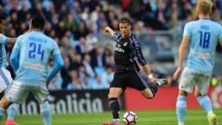 La Liga: Cristiano Ronaldo's double takes Real Madrid closer to title