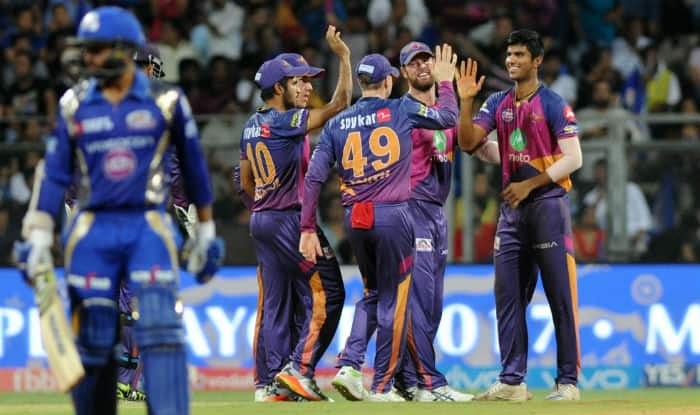 Rising Pune Supergiant spayed Mumbai Indians by 20 runs to reach their maiden IPL final