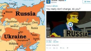 Russia and Ukraine get in a Twitter War! Twitterati left stunned at the debate of origin of queen