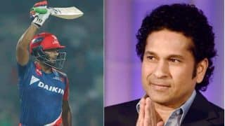IPL 2017: Sachin Tendulkar's tweet on Rishabh Pant will make you feel good for the youngster!