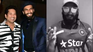 Sachin Tendulkar applauds Ranveer Singh's video on Sachin: A Billion Dreams! Bollywood unites to celebrate the biopic release
