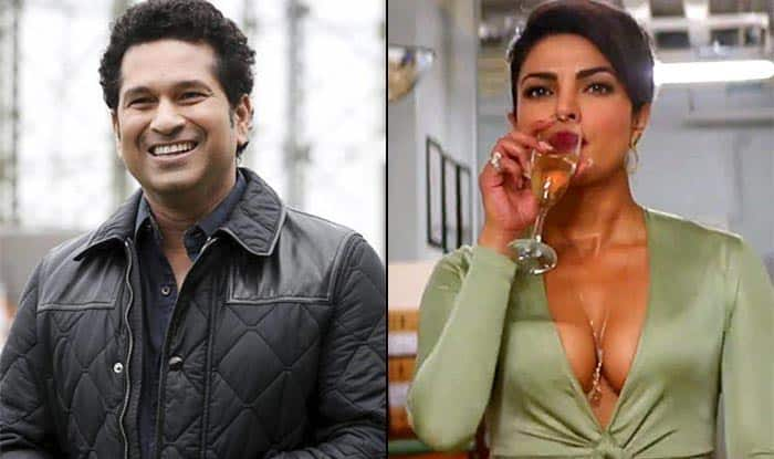 Image result for SACHIN WITH PRIYANKA