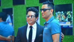 Sachin Tendulkar's biopic is an inspiration, says MS Dhoni