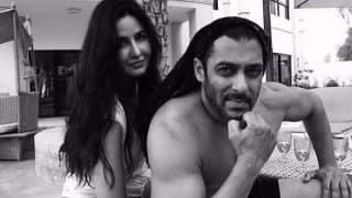 A shirtless Salman Khan looks smoldering hot with Katrina Kaif on the sets of Tiger Zinda Hai