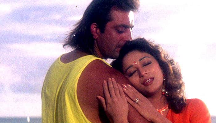 Image result for sanjay dutt with madhuri