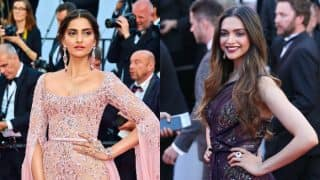 Sonam Kapoor REACTS on being compared to Deepika Padukone at Cannes 2017