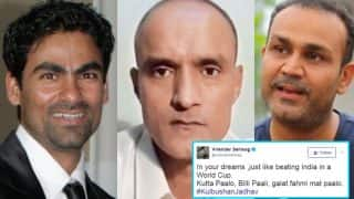Mohammad Kaif & Virender Sehwag targeted by Pakistani Twitter trolls over ICJ verdict on Kulbhushan Jadhav! Cricketers blast the netizens!