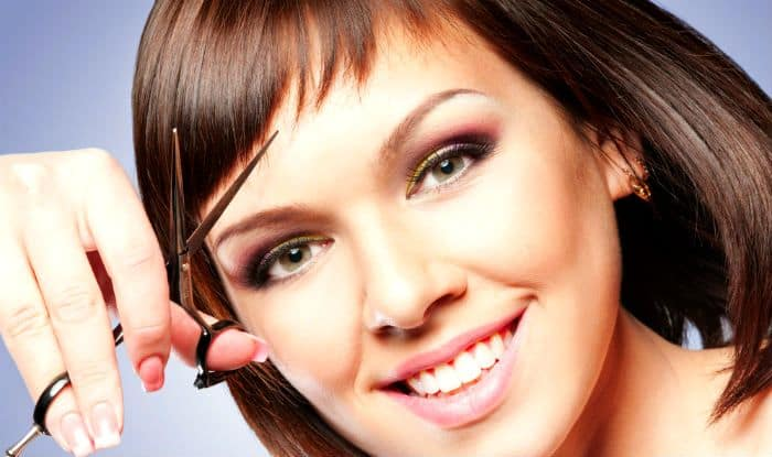 How To Cut Your Own Bangs Step By Step Guide To Cut Blunt And Side
