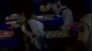 SP worker thrashed by cops inside police station Badaun; Watch video