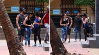 Mira Rajput joins hubby and workout buddy Shahid Kapoor back at the gym - View HQ pics!