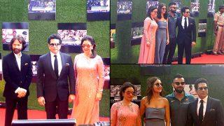 'सचिन-अ बिलियन ड्रीम्स' की स्पेशल स्क्रीनिंग पर पहुंचे क्रिकेट जगत के सितारे, कुछ ऐसा था विराट की गर्लफ्रेंड का अंदाज़