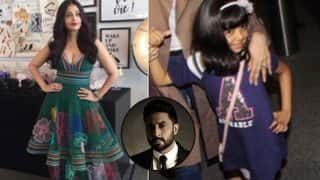 Abhishek Bachchan says Aaradhya copied mommy Aishwarya Rai Bachchan's signature pose at Cannes 2017