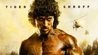 Rambo first look: Tiger Shroff will floor you with his angry young man look