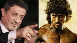 What is Sylvester Stallone's advice to Tiger Shroff for the Rambo remake?