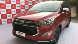 Toyota Innova Crysta Touring Sport special edition launched; Price in India starts at INR 17.79 lakh
