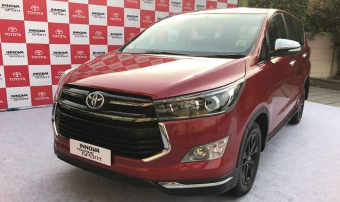 Toyota launches Innova Touring Sport priced up to Rs 22.15 lakh