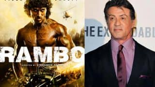 Sylvester Stallone had only LOVE for Tiger Shroff and the Rambo remake - check tweets