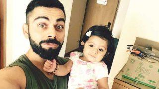 विराट कोहली ने शेयर की हरभजन की बेटी  हिनाया के साथ क्यूट सी तस्वीर, हुई वायरल