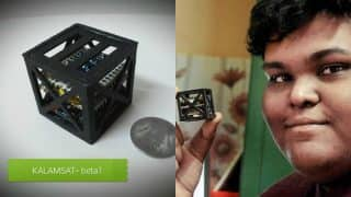World's Lightest Satellite invented by Indian teen Rifath Sharook to be launched by NASA on 21st June