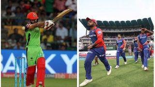 दिल्ली vs बैंगलोर Live: रॉयल चैलेंजर्स बैंगलोर ने जीता टॉस, पहले बल्लेबाजी का फैसला