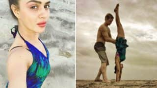 Nach Baliye 8: After elimination Naagin 2 actress Aashka Goradia and beau Brent Goble relaxing in Goa!