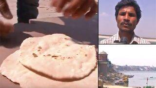 Viral Video: Man cooks chapatis in 48 degrees celsius on sun-scorched floor in Uttar Pradesh; talks about heat-wave intensity!