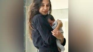 Lisa Haydon shares latest picture of her son Zack Lalvani while he sleeps peacefully in her arms!