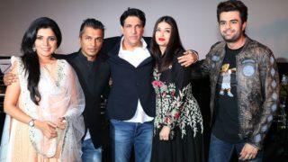 Aishwarya Rai Bachchan is elegance personified at the music launch of Hrudayantar - view pics