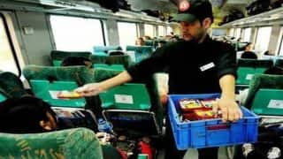 Rajdhani, Shatabdi Express passengers now get to opt for pizza, burgers instead of poor quality pantry car food