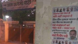 Poster outside AAP office attacks Kumar Vishwas, terms him a traitor and friend of BJP