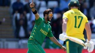 चैंपियंस ट्रॉफीः अपने वनडे करियर में पहली बार 'गोल्डन डक' पर आउट हुए एबी डिविलियर्स
