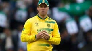 AB de Villiers Returns to South African ODI Team For Bangladesh Series