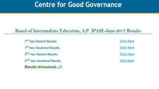 manabadi.com AP Intermediate 1st Year & 2nd Year Supply Results 2017 Declared: Steps to check AP IPASE results on bieap.gov.in