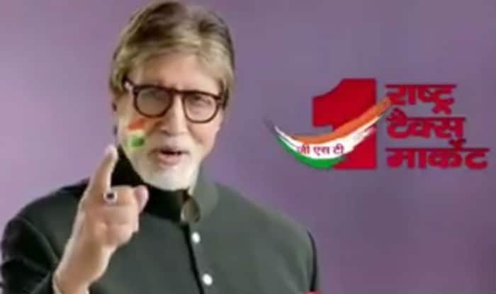 Cong urges Bachchan to withdraw from GST campaign