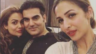 Arbaaz Khan and Malaika Arora SPOTTED at Salman Khan's Eid party – see inside pictures