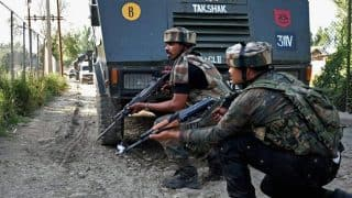 J&K: Three LeT Terrorists Killed in Encounter in Sopore, Police Jawan Injured