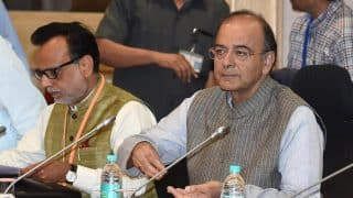GST Council Announcements:  Arun Jaitley Announces Cuts in Tax Levies