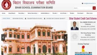 Bihar BSEB 10th Results 2017 LIVE updates: Bihar 10th Results Declared, Download Link Activated now